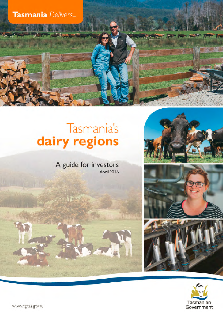 Tasmania's Dairy Regions: A guide for investors