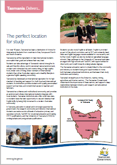 Tasmania Delivers International Education